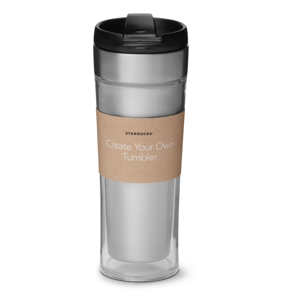 Starbucks create your own stainless steel nettbutikk for Starbucks create your own tumbler blank template