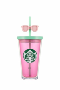 Starbucks® Smooth Cold Cup Sunglass Pink 16oz