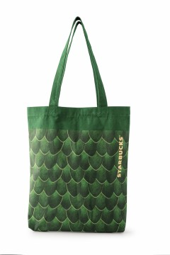 Starbucks® Totebag Feathered Green