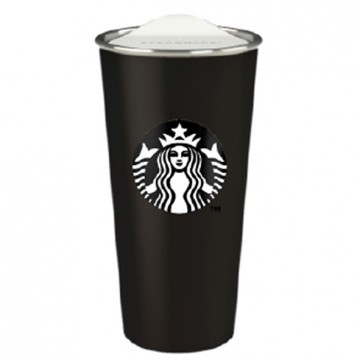 Starbucks® Stainless Steel Black Tumbler
