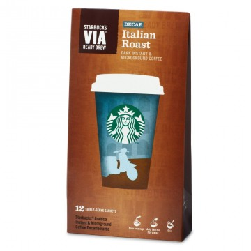 Starbucks VIA® Ready Brew Decaf Italian Roast