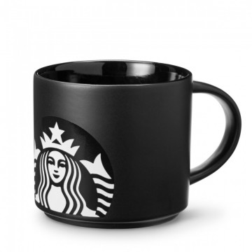 Starbucks® Siren Stacking Mug - Black