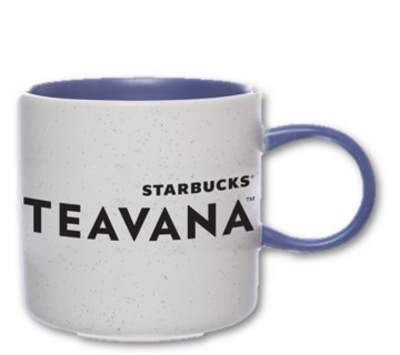 Teavana Speckled Perfect Mug - Blue