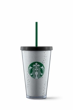 Starbucks® Cold Cup Snowy Footprints 16oz