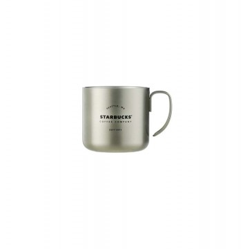 Starbucks ®  Silver Stainless Steel Mug